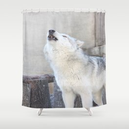 Howling Wolf 3 Shower Curtain