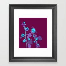 Globe Mallow Flowers Framed Art Print