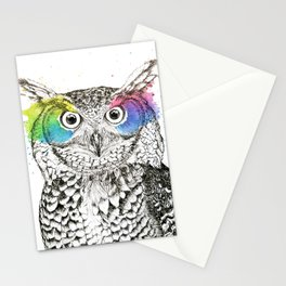Owl II Stationery Cards