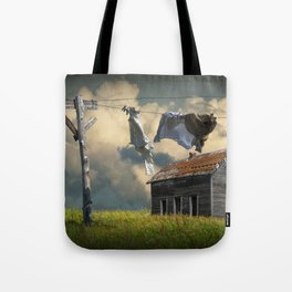 Wash on the Line Tote Bag
