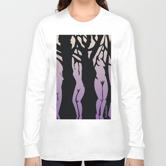 Women/Trees Long Sleeve T-shirt