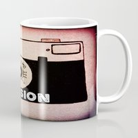 passion Mugs featuring Passion by Julia Kovtunyak