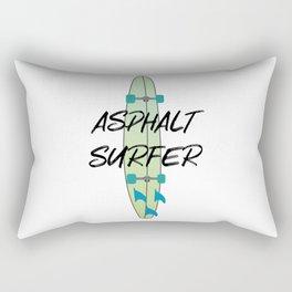 Asphalt Surfer 2 Surfboard Rectangular Pillow