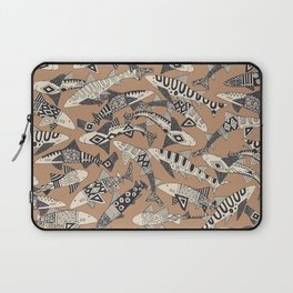 shark party biscuit Laptop Sleeve