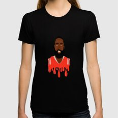 JHarden13 Womens Fitted Tee SMALL Black