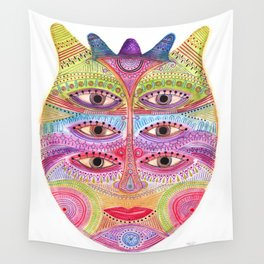 kindly expressed kind of kindness mask Wall Tapestry