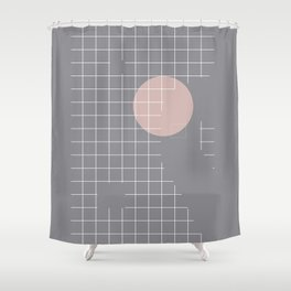 Neutral Gray #abstract #fall #color Shower Curtain
