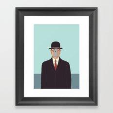 Son of Modern Man Framed Art Print