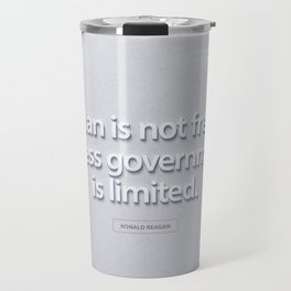 President Ronald Reagan Quote Travel Mug