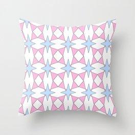symetric patterns 30 -mandala,geometric,rosace,harmony,star,symmetry Throw Pillow