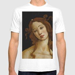 "Sandro Botticelli ""Venus"" (Sabauda Gallery, Turin) T-shirt"