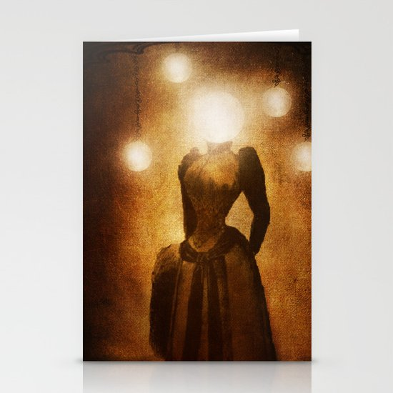 Lady of the Light Stationery Cards