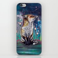 justin timberlake iPhone & iPod Skins featuring There is a Light by Mat Miller