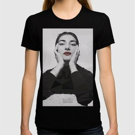 Geometric Callas T-shirt
