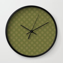 Golden Hour - Fortress collection Wall Clock