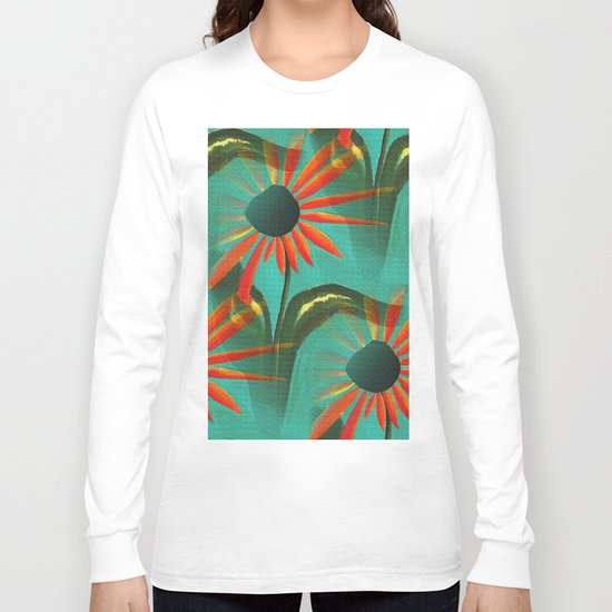 Pointing Petals Long Sleeve T-shirt