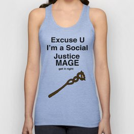 Social Justice Mage Unisex Tank Top