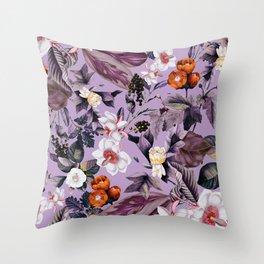 Crocus Petal Throw Pillow
