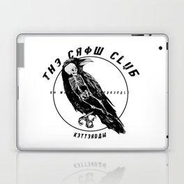 the crow club Laptop & iPad Skin