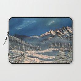 Ice Fields - winter day Laptop Sleeve