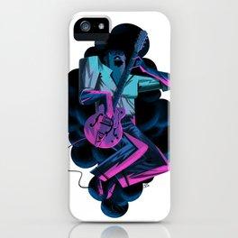 Blues spirit iPhone Case