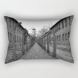 Auschwitz, Poland. Rectangular Pillow