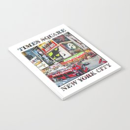 Times Square NYC (poster edition) Notebook