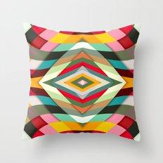 Colorful Smile Throw Pillow