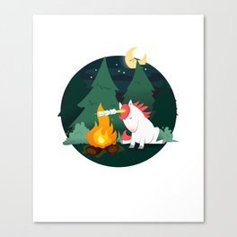 Forest of the Unicorn Canvas Print