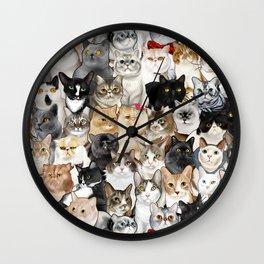 Catmina 2017 - SEVEN Wall Clock