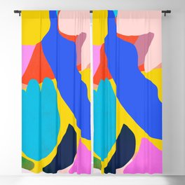 Unbridled Enthusiasm - Shapes and Layers no.38 Blackout Curtain