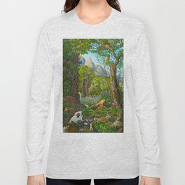 Historia naturalis palmarum - Carl Friedrich Philipp von Martius - c.1836-1850 Long Sleeve T-shirt