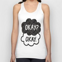 tfios Tank Tops featuring OKAY?OKAY THE FAULT IN OUR STARS TFIOS HAZEL AUGUSTUS CLOUDS by monalisacried
