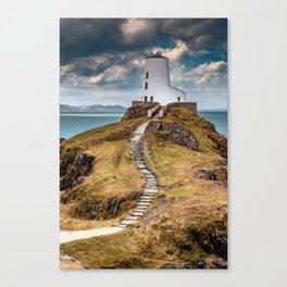 Twr Mawr Lighthouse Canvas Print