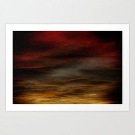 Gloomy Sky 0012 Art Print