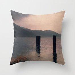 mountains inner peace Throw Pillow