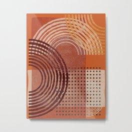 Natural Geometry  VI Metal Print