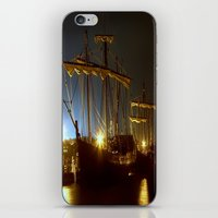 ships iPhone & iPod Skins featuring Tall Ships by Forand Photography