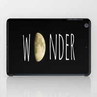 wonder iPad Cases featuring Wonder by ALLY COXON