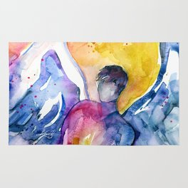 Luke Angel by Kathy Morton Stanion Rug