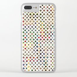 247 Toilet Rolls 16 Clear iPhone Case