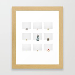 Untitled - Four (Construction Archives, Esthétique) Framed Art Print