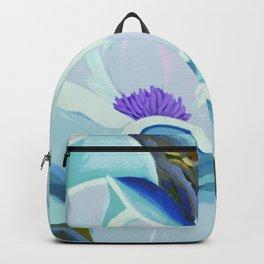 Blue Magnolia Backpack