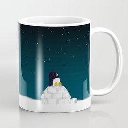 Star gazing - Penguin's dream of flying Coffee Mug