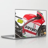 ducati Laptop & iPad Skins featuring Ducati GP15 by Larsson Stevensem