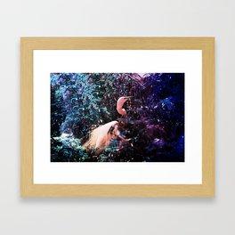Ultraviolet Herron   Framed Art Print