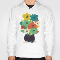 matisse Hoodies featuring Paper Flowers by Picomodi
