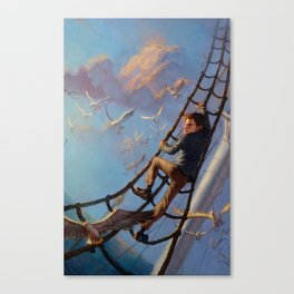 The Death-Defying Pepper Roux Canvas Print