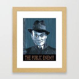The Public Enemy Framed Art Print