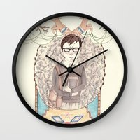 imagination Wall Clocks featuring Imagination by Brooke Weeber